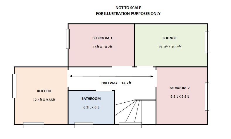Floor plan range homes estate agents in palmers green for Floor plans for estate agents